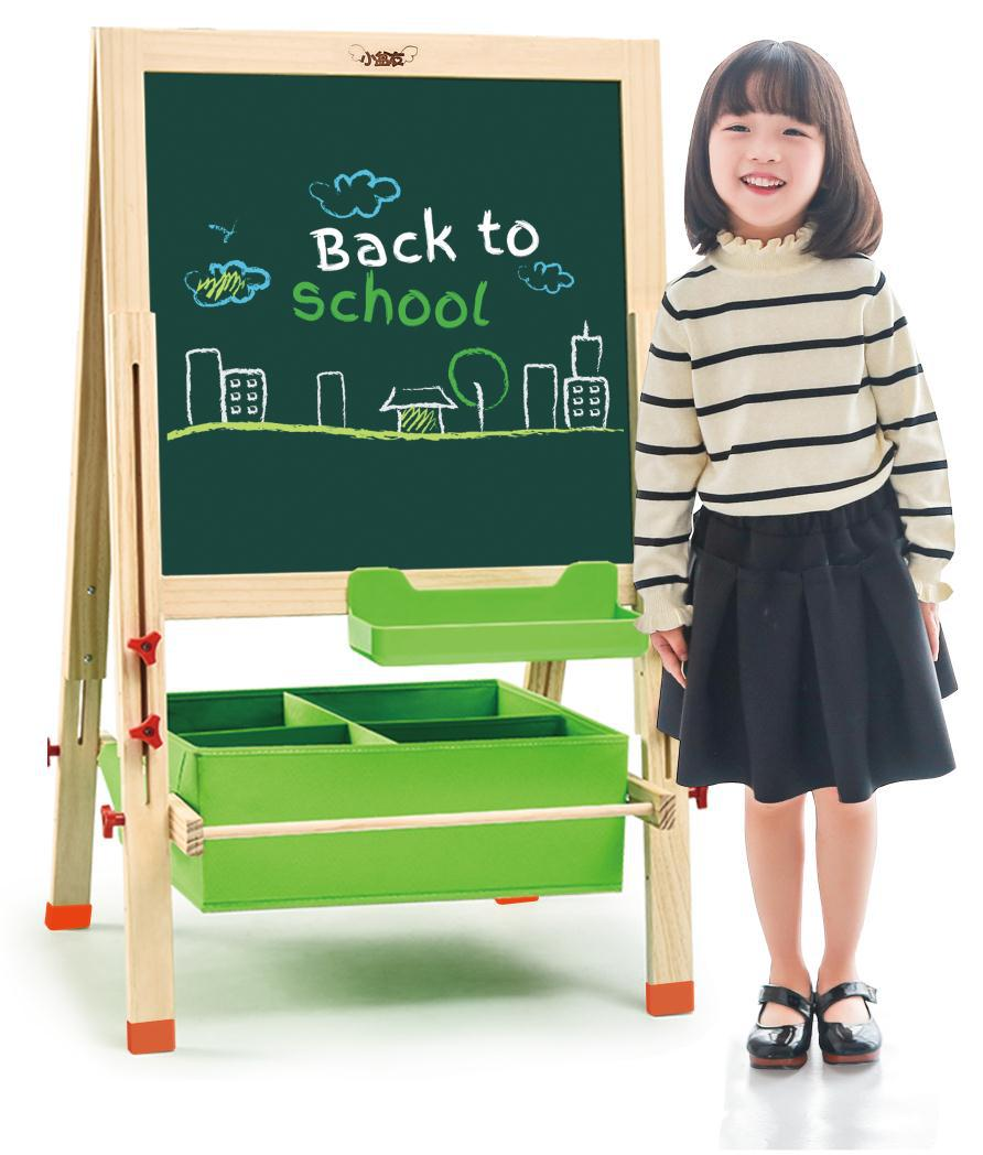 Sketchpad Easel New Storage Office Culture And Education Parent And Child Interactive Educational Learning Double-Sided Magnetic