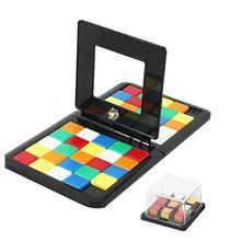 Головоломка Куб 3D головоломка гоночная доска с кубиками игра дети взрослые обучающая игрушка родитель-ребенок двойная скорость игра Волшебные кубики