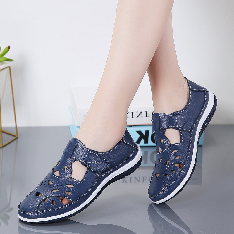Women Sandals Casual Shoes Ladies Soft Beach Sandals Walking Flat Shoes Outdoor Comfort Female Fashion Sneakers Breathable Shoes