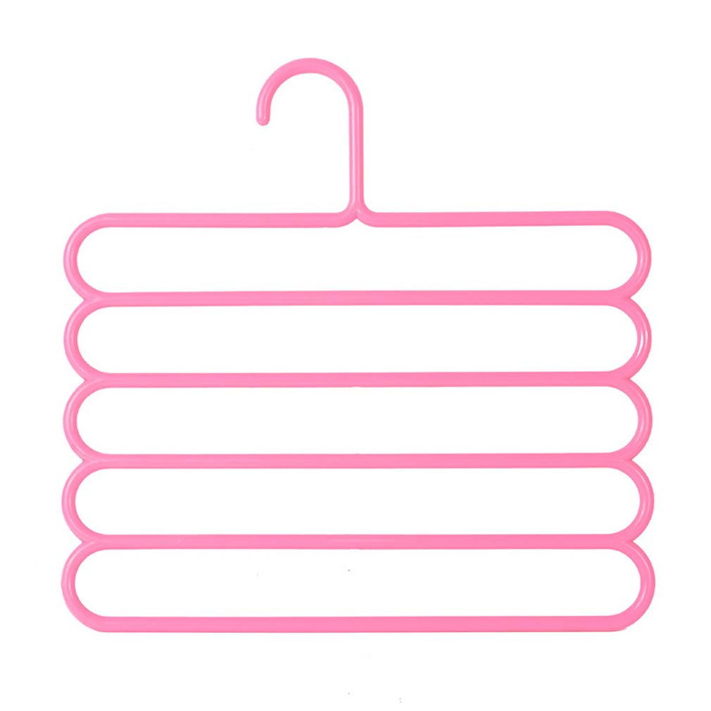 Вешалка для одежды, органайзер для одежды, 1 шт., многослойная вешалка для одежды, вешалка для одежды, Perchas Para La Ropa, крючок, вешалки - Цвет: 12 35cmx34.5cm