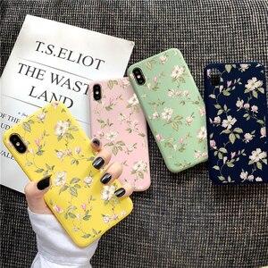 Art Flower Case For Xiaomi Redmi Mi Note 10 8 Lite 9 S 9S 8T 7 7A 5 6 K20 K30 Pro Max SE 10X Pocophone F2 Pro F1 Silicone Fundas