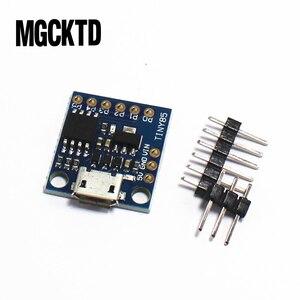 Image 3 - 10 pçs/lote GY módulo placa de desenvolvimento mínimo TINY85 usb Digispark kickstarter em miniatura