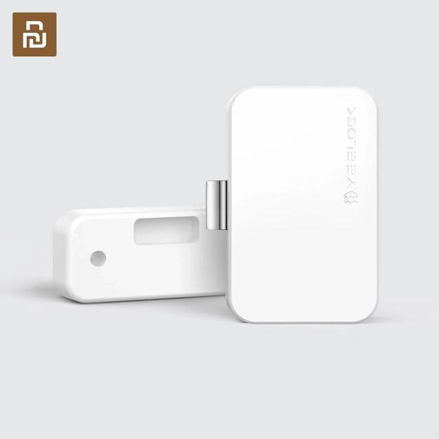 New Youpin YEELOCK Smart Drawer Cabinet Lock Keyless Bluetooth APP Unlock Anti Theft Child Safety File Security Drawer switch