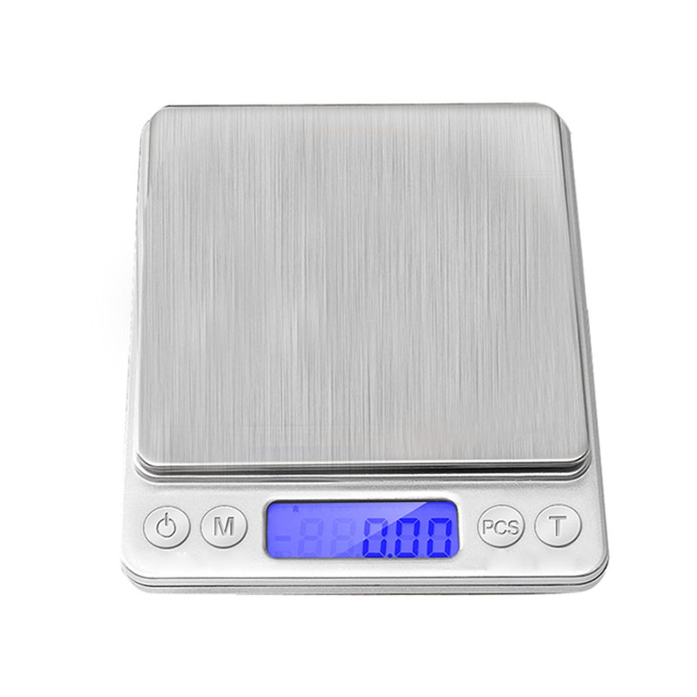 High Precision Electronic Digital Scale Stainless Steel Weighing Scale Mini Portable Kitchen  Food Scale