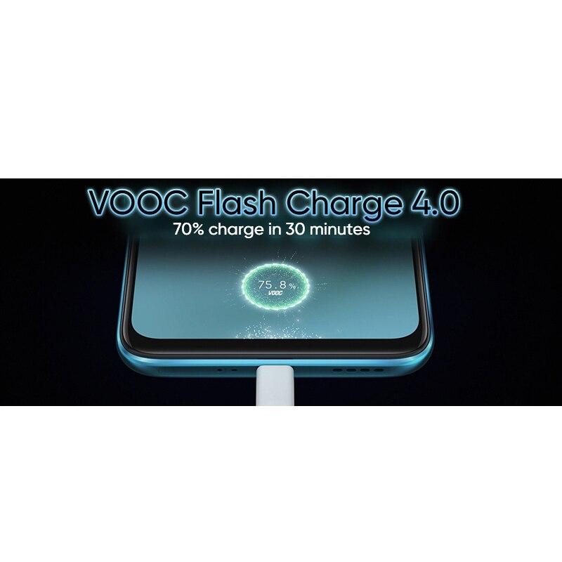 Realme X50 telefon komórkowy 5G nfc 6.57 ''telefon komórkowy Snapdragon 765G 64MP Quad kamery telefonu komórkowego OPPO VOOC 30W szybka ładowarka
