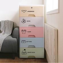7 шт. шкаф логотип наклейка коробка для хранения одежды классификация наклейка этикеты Bocaux спальня лейблы-наклейки для коробка для одежды