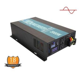 Caricabatterie Inverter | Onda Sinusoidale Pura Power Inverter Solar Regolatore Di Carica Off-grid Batteria Per Auto LED Displa 1500w 2000w 2500w 3000w 3500w 4000w 5000