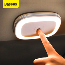 Baseus Car Reading Light Rechargeable Magnetic LED Auto Styling Night Light Car Interior Light Ceiling Lamp
