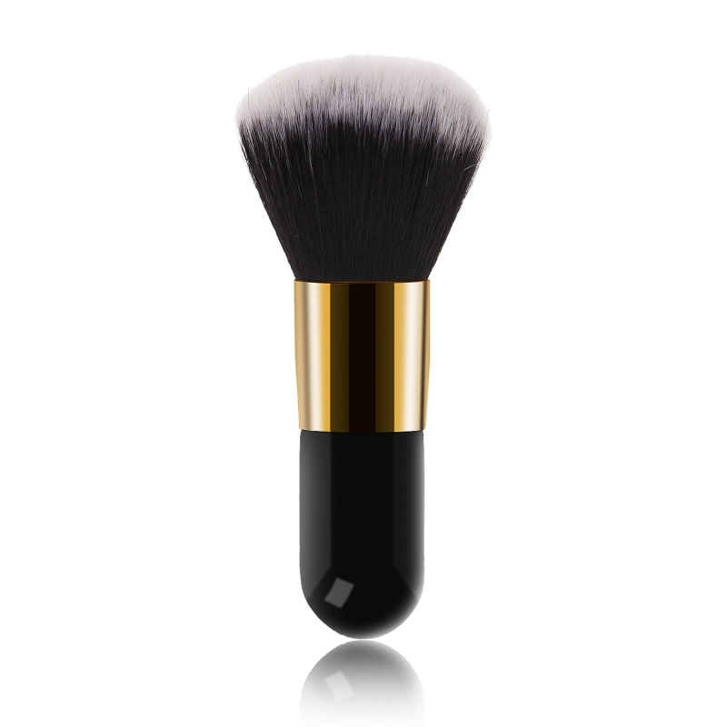 Big Size Makeup Brushes Powder Face Blush Brush Professional Bronzers Contour Cosmetic Brush Soft Foundation Makeup Tools in Eye Shadow Applicator from Beauty Health