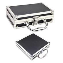 Aluminum Alloy Portable Toolbox Storage Manager Travel Box Frame Handle Supplies
