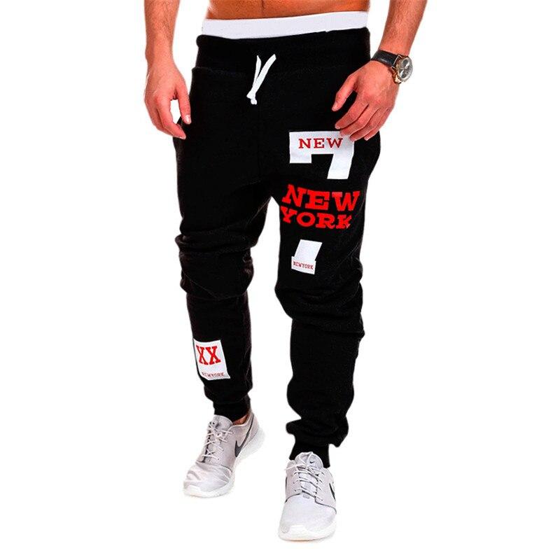 Men's Casual Pants Hip Hop Sweatpants  Joggers Fashion Mens Letter Harem Pants Men Trousers Youth Pants TJWLKJ