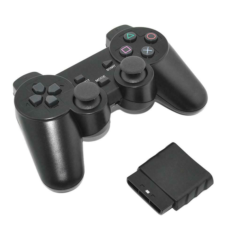 Wireless Gamepad 2.4G For Sony PS2 Controller For Playstation 2 Console Joystick Double Vibration Shock Joypad Wireless Controle
