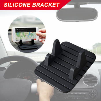 Rubber Car Dashboard Non-slip Mat Pad For Mobile Phone GPS Stand Mount Holder Storage 3 image