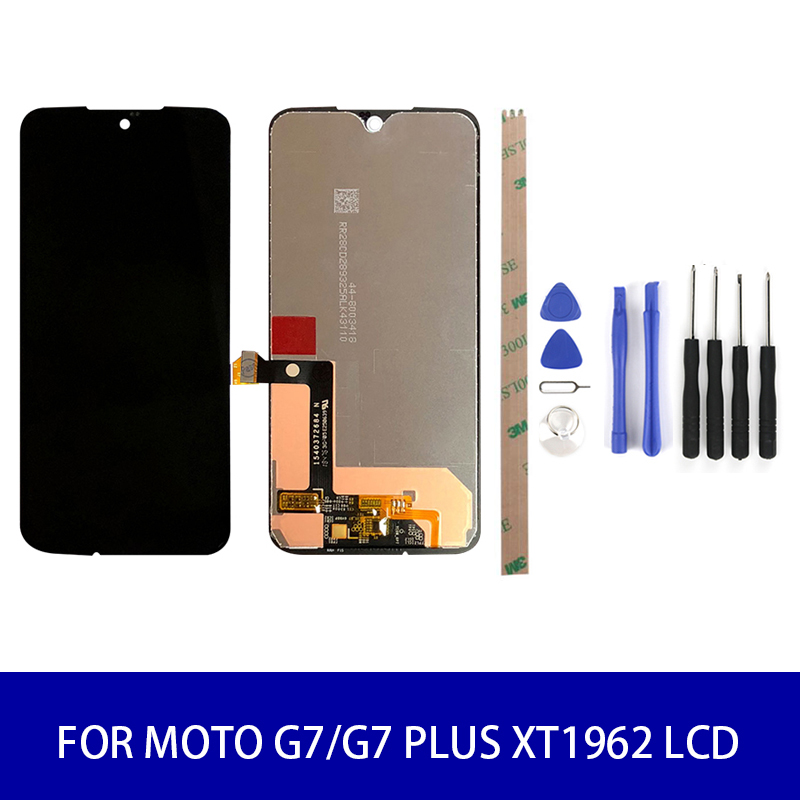 Original Quality For Motolora Moto G7/G7 PLUS <font><b>XT1962</b></font> Lcd Display Touch Screen Panel Digitizer Assembly Screen Replacement <font><b>Parts</b></font> image