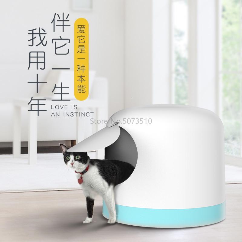Умывальник для кошачьего туалета, полностью закрытый, очень большой дезодорант, дезодорант, влагозащищенный, кошачий Туалет, кошачий Туалет, котенок, товары для домашних животных - Цвет: 2