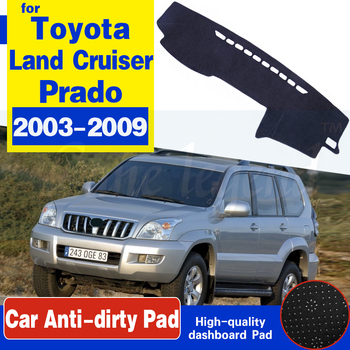 for Toyota Land Cruiser Prado 120 J120 2003~2009 Anti-Slip Mat Dashboard Cover Pad Sunshade Dashmat Accessories 2004 2005 2007 image