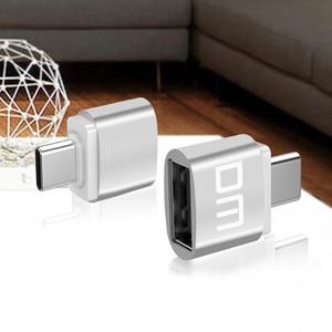 Image 4 - Адаптер DM USB C Type C к USB 2,0, адаптер Thunderbolt 3 Type C, OTG кабель для Macbook pro Air Samsung S10 S9 USB OTG