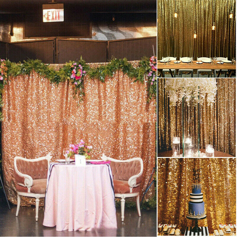 Wedding Photo Backdrop Rose Gold Birthday Photo Backdrop Photo Booth Backdrop Festive Decoration Rose Gold Petal Photo Booth Curtain