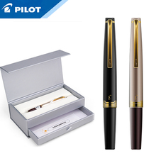 1 قطعة الطيار النخبة 95s 14k جراب قلم ذهبي EF/F/M بنك الاستثمار القومي نسخة محدودة جيب قلم حبر الشمبانيا الذهب/أسود هدية مثالية