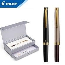 1Pcs טייס עלית 95s 14k זהב עט EF/F/M ציפורן מוגבלת גרסה כיס מזרקת עט שמפניה זהב/שחור מושלם מתנה