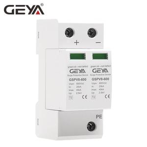 Image 4 - Free Shipping GEYA PV SPD 2P 3P 600V 1000V DC Surge Protector SPD DC 500V