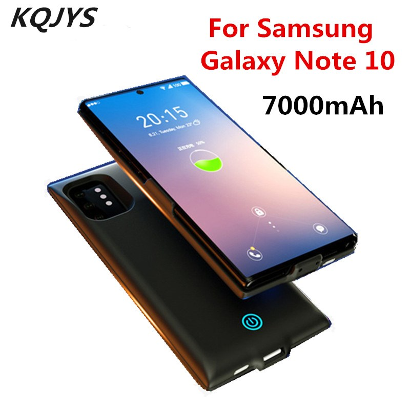 7000mAh Premium Back Clip Battery Case For Samsung Galaxy 10 Plus Portable Ultra-Thin Power Supply Case For Samsung Note 10