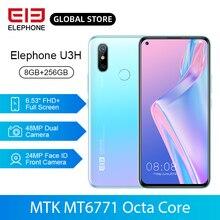 ELEPHONE U3H 8GB 256GB Helio P70 Octa Core Mobile Phone Wire