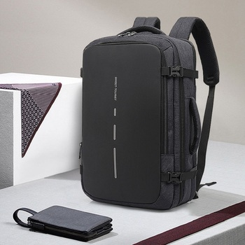 Edison Men's Backpack Oxford Cloth Outdoor Multi-Function USB Male Backpack Three With Large Capacity Waterproof Laptop Backpack
