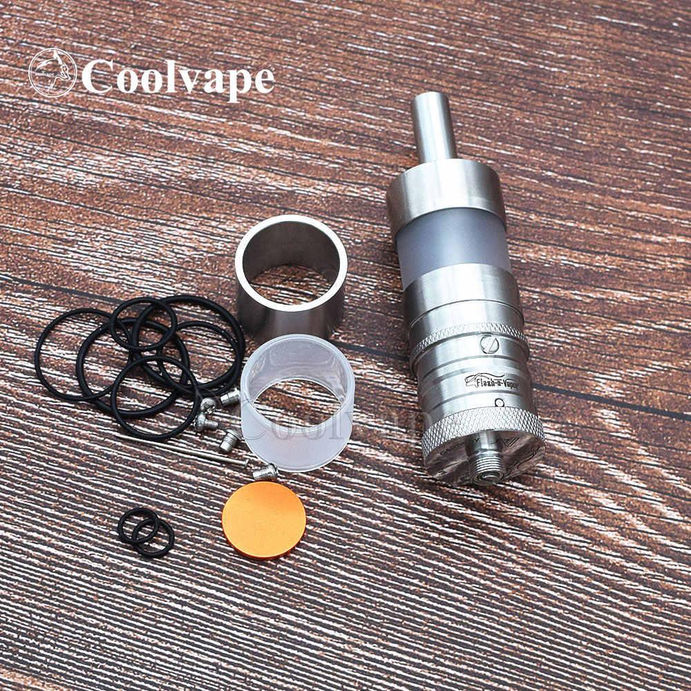Coolvape Vapor Giant mod FEV V4.5 RTA 316 SS 23 мм RTA 6,0 мл атомайзер сигарета электронный механический мод 18650 батарея vs sob v2