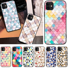 OFFeier Diamond sequins DIY Luxury Phone Case For iPhone 5 6 6S 7 8 plus X XS XR XS MAX 11 11 pro 11 Pro Max offeier love and hope girl diy luxury phone case for iphone 5 6 6s 7 8 plus x xs xr xs max 11 11 pro 11 pro max
