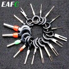 18Pcs 11Pcs Automotive Plug Terminal Remove Tool Set Key Pin Car Electrical Wire Crimp Connector Extractor Kit Accessories