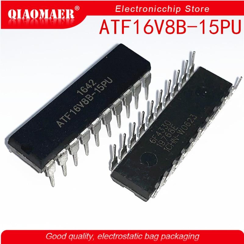 10Pcs ATMEL IC ATF16V8B-15PU ATF16V8B DIP20 PLD Free Shipping