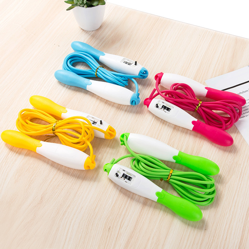 Extra-value 65 Profession Electronic Counting Jump Rope Adult Pattern Skipping Rope Students The Academic Test For The Junior Hi