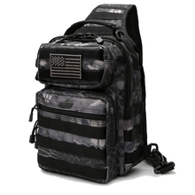 Tactical Chest Bag Man Army Backpacks Military Assault Bags Outdoor EDC Molle Pack For Trekking Camping Hunting