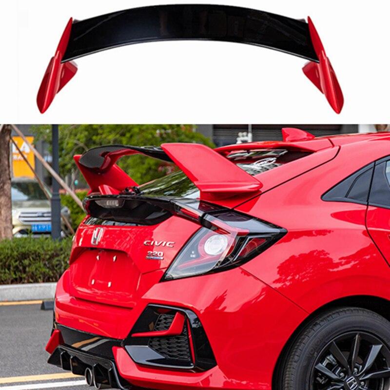 Неокрашенный спойлер для заднего багажника из АБС-пластика Type-R для Honda Civic FK7 украшение в виде хвостового крыла 2016-2018