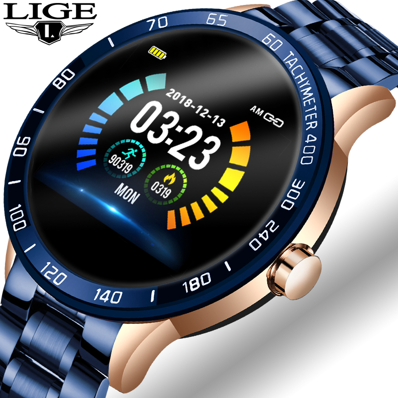 Mens' Watches Fashion Smart Sport Clock Men Bluetooth Watches Digital Electronic Wrist Watch For Men Clock Male Wristwatch Women