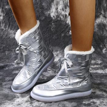 """Damskie jesienne botki brytyjscy studenci wiatru buty wojskowe buty damskie jesienne netto czerwone krótkie buty zimowe buty trzymające ciepło tanie i dobre opinie xuanmeilun CN (pochodzenie) Do kolan Połączone w literę """"T"""" Stałe Adult Płaskie z BUTY NA ŚNIEG Pluszowe okrągły nosek"""