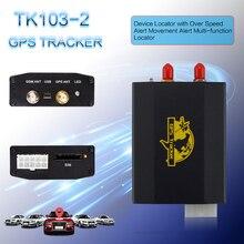 Автомобильный gps локатор, автомобильный gps трекер, устройство позиционирования в реальном времени, TK103-2, Suppot, sim-карта, A-B, режим мониторинга трансформации
