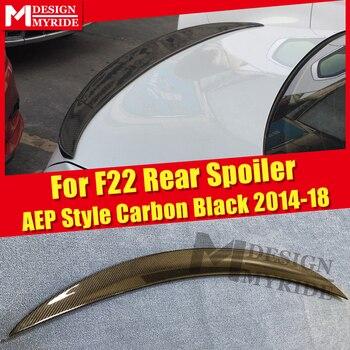 Adatto Per BMW F22 Gloss Carbonio Nero Tronco Spoiler Ala AEP Stile 2-Serie 220i 228i 230i 235i Coda wing Tronco Spoiler 2014-2018