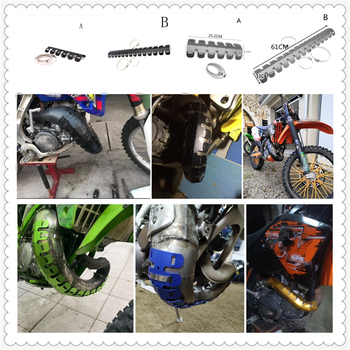 Motorcycle Accessories exhaust hood insulation board decoration for HONDA CBR929RR CBR600RR CBR954RR CB1000R image