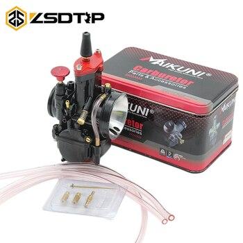 ZSDTRP 21 24 26 28 30 32 34mm parte del motor de la motocicleta carburador Mikuni PWK carburador para ATV Suzuki Honda Yamaha de Jet