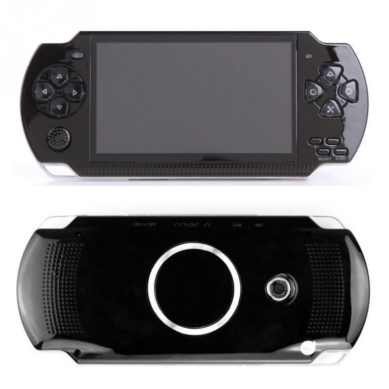 PSP כף יד קונסולת משחקי 4.3 אינץ תמיכת נגן MP5 MP4 MP3 עם מסך 8G Easy מבצע עבור משחק PSP, מצלמה, וידאו, ספר אלקטרוני (2)
