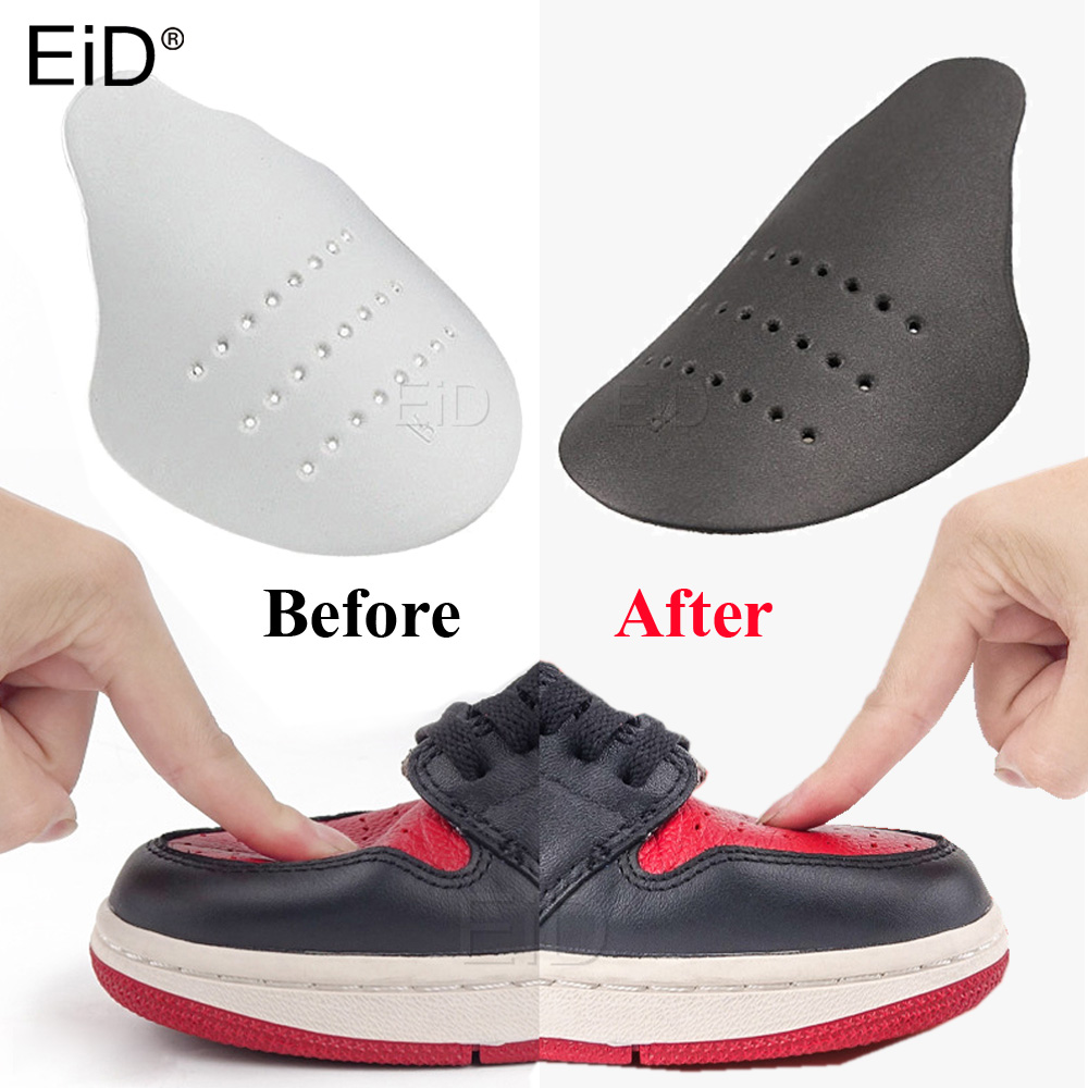 1 Pair Universal Shoes Shields For Sneaker Anti Crease Wrinkled Fold Shoe Support Toe Cap Sport Ball Shoe Head Stretcher Expande