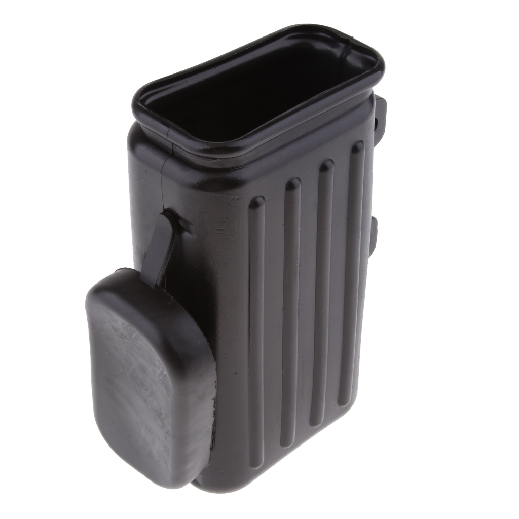 Motorcycle Pit Dirt Trail  Bikes Tool Box Holder Container For Suzuki DR250 Djebel TW200 TW225 Black