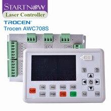 Trocen AWC708S להחליף Ruida לוח CNC מערכת בקרת חיתוך ציוד מכונה חילוף חלקי CO2 לייזר בקר כרטיס 708S