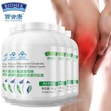 6 бутылок Глюкозамин хондроитин сульфат кальция капсулы сустав поддержка добавка для облегчения
