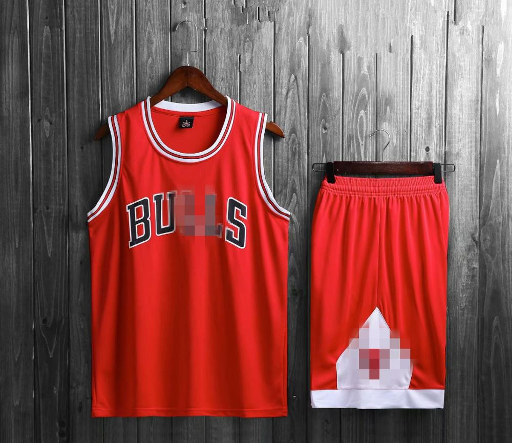 Casual Shorts Basketball-Clothes Whiteness Black Mens Red Jersey-Suit Team Wholesale