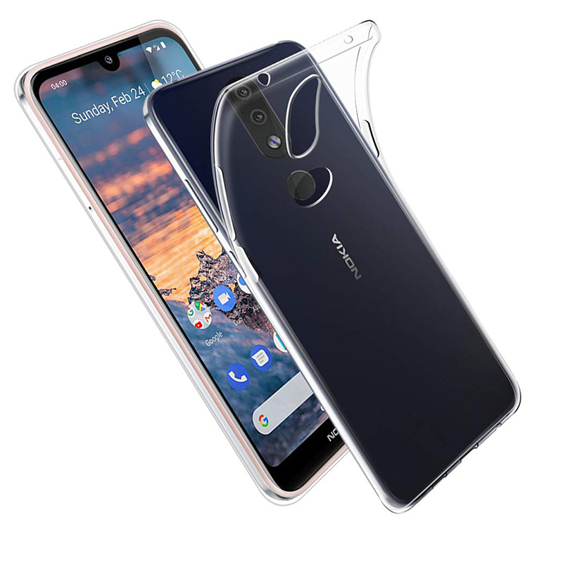 2019 Transparent Soft Silicone Case for <font><b>Nokia</b></font> <font><b>4.2</b></font> Back Cover Ultra Thin Clear TPU 360 Protective Mobile <font><b>Phone</b></font> Armor Nokia4.2 Bag image