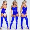 Blue Bodystockings