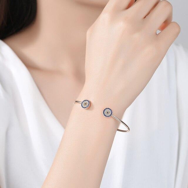 Bracelet Kaletine oeil bleu 5